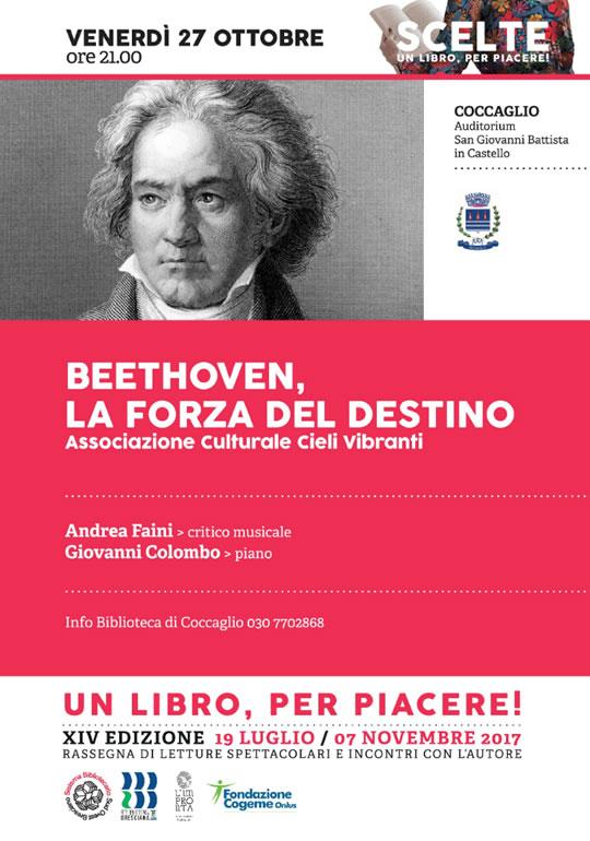 Beethoven la forza del destino a Coccaglio