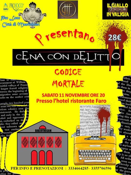 Cena con Delitto a Montichiari