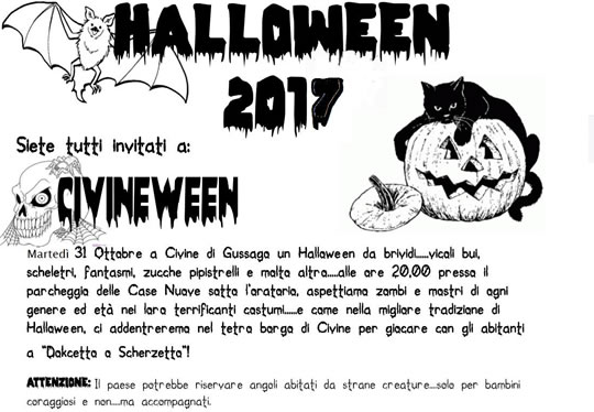 Civineween a Civine di Gussago