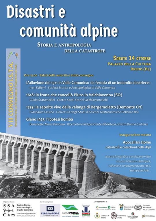 Disastri e Comunità Alpine a Breno