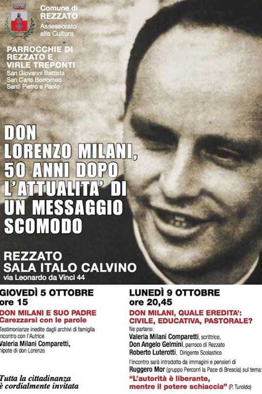 Don Lorenzo Milani 50 anni dopo a Rezzato