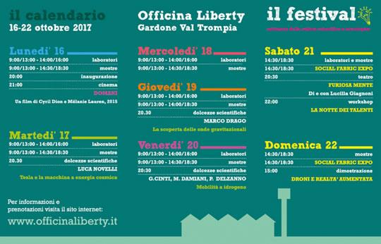 Festival Officina Liberty a Gardone Val Trompia