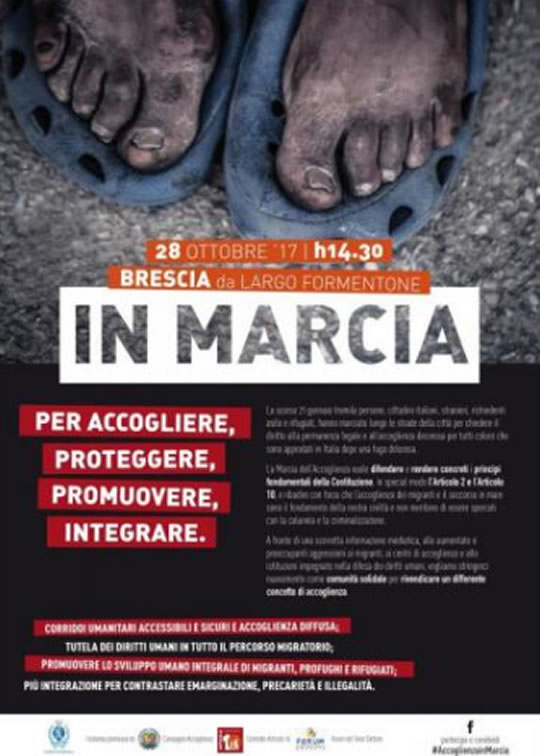 In Marcia a Brescia