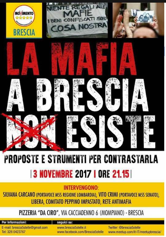 La Mafia a Brescia NON Esiste