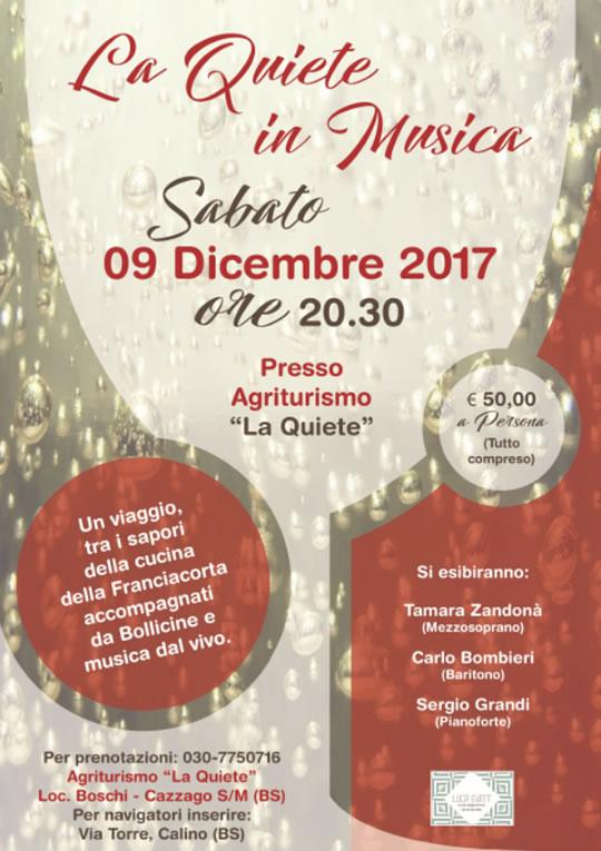 La Quiete in Musica a Cazzago San Martino
