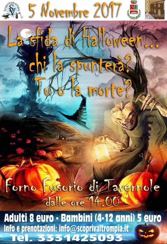 La Sfida di Halloween a Tavernole