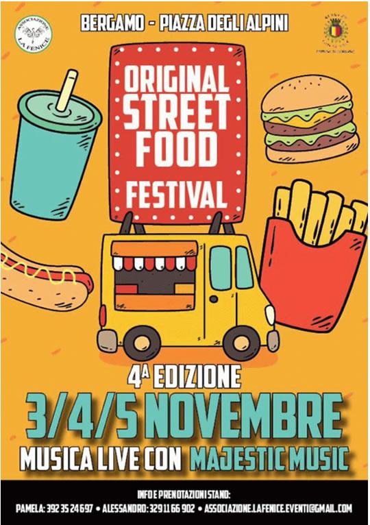 Original Street Food Festival a Bergamo