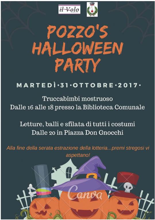 Pozzo's Halloween Party a Pozzolengo