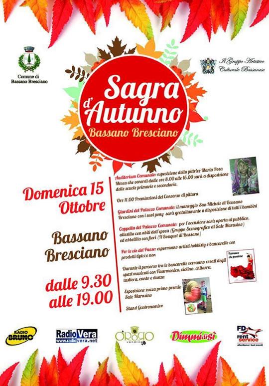 Sagra d'Autunno a Bassano Bresciano