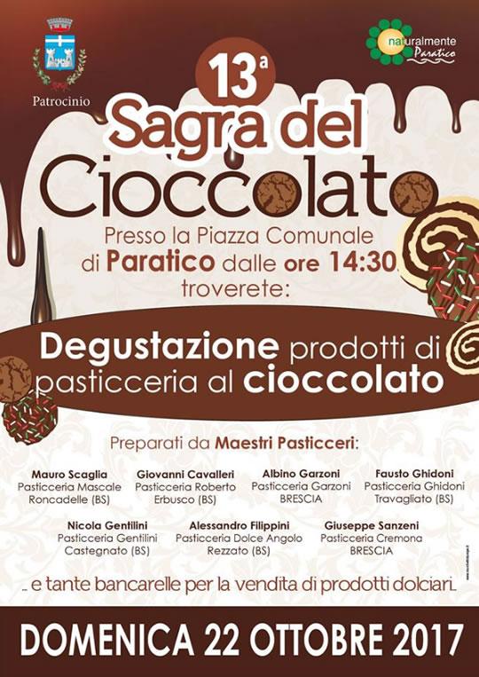 Sagra del Cioccolato a Paratico