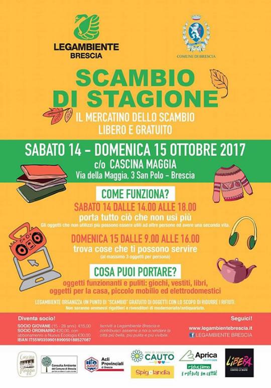 Scambio di Stagione a Brescia