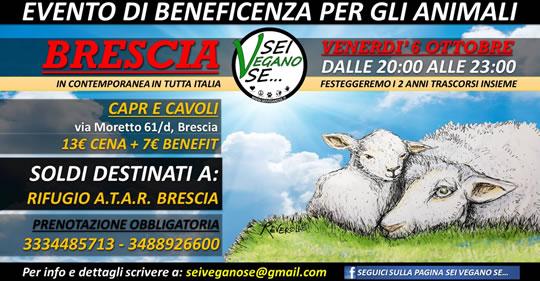 Sei Vegano se....  a Brescia
