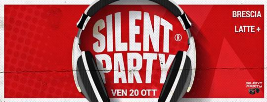 Silent Party a Brescia