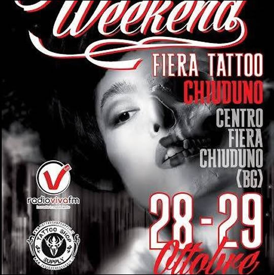 Tattoo Weekend a Chiuduno