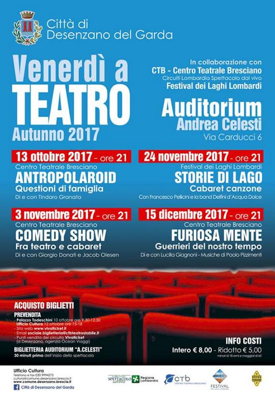 Venerdì a Teatro a Desenzano