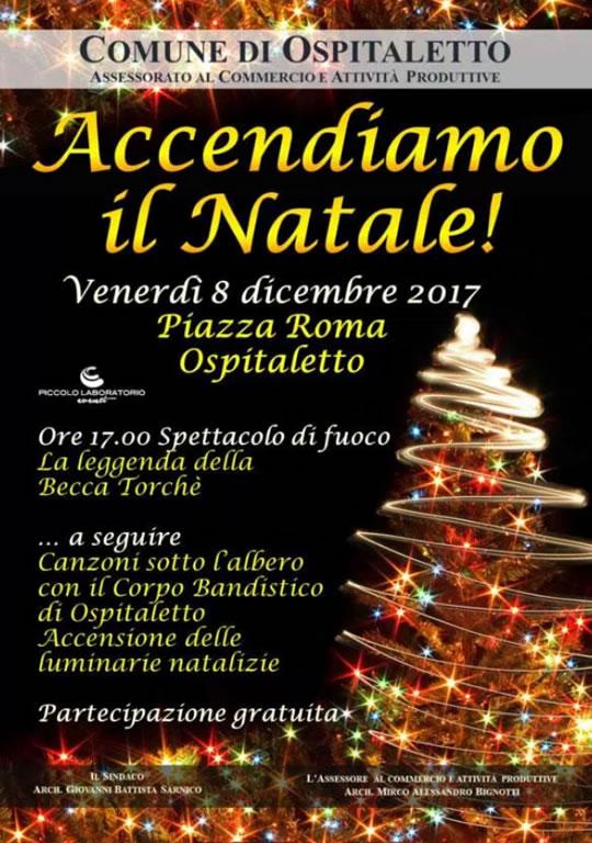 Accendiamo il Natale a Ospitaletto