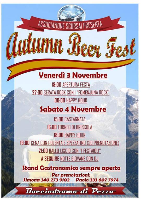 Autumn Beer Fest a Ponte di Legno