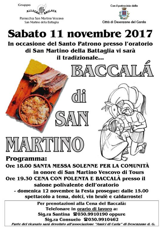 Baccalà di San Martino a San Martino della Battaglia