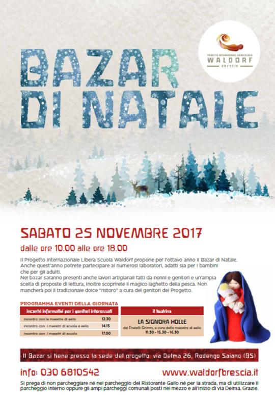 Bazar di Natale a Brescia