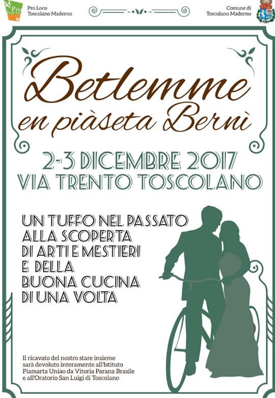 Betlemme en Piaseta Bernì a Tooscolano Maderno