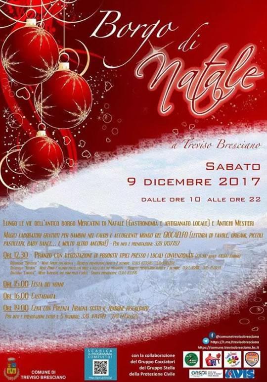 Borgo di Natale a Treviso Bresciano