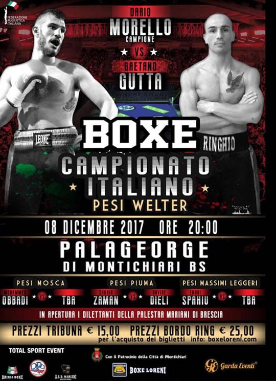 Boxe Campionato Italiano a Montichiari