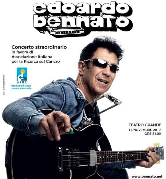 Concerto Edoardo Bennato a Brescia