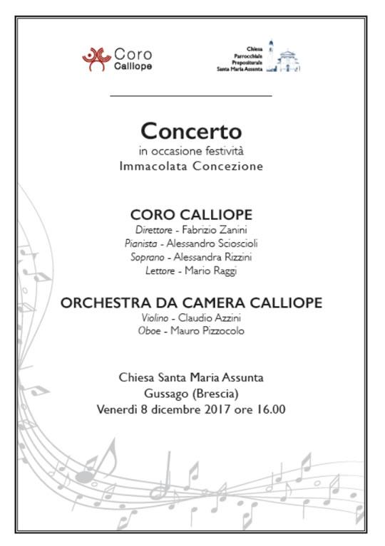 Concerto Orchestra da Camera a Gussago