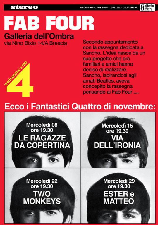 Fab Four a Brescia