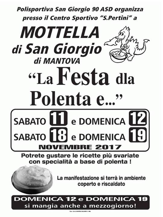 Festa della Polenta a San Giorgio di Mantova