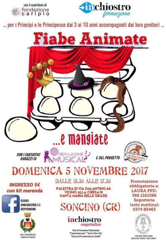 Fiabe Animate a Soncino