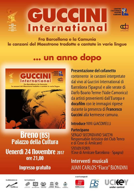 Guccini International a Breno