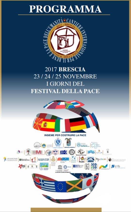 I Giorni del Festival della Pace a Brescia