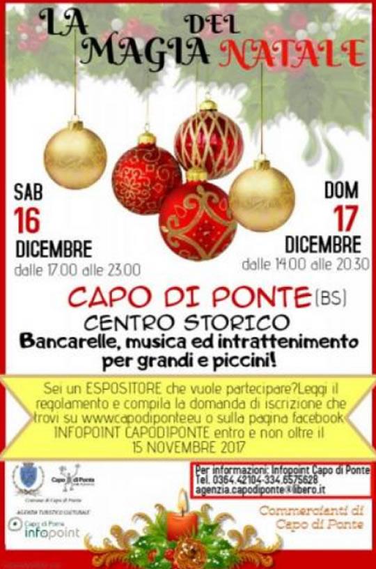 La Magia del Natale a Capo di Ponte