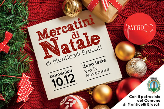 Mercatini di Natale di Monticelli Brusati
