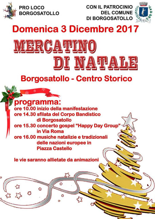 Mercatino di Natale a Borgosatollo