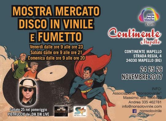 Mostra Mercato Disco in Vinile e Fumetto a Mapello BG
