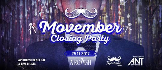 Movember Closing Party a Brescia
