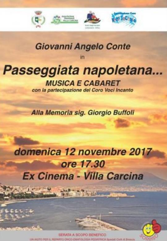 Passeggiata napoletana a Villa Carcina