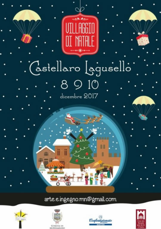 Villaggio di Natale a Castellaro Lagusello