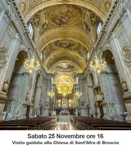 Visita alla Chiesa di Sant'Afra Brescia