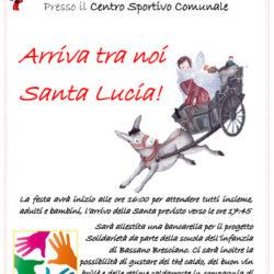 Arriva tra noi Santa Lucia a Bassano Bresciano