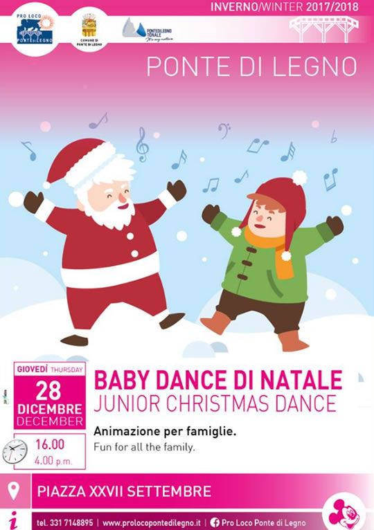 Baby Dance di Natale a Ponte di Legno