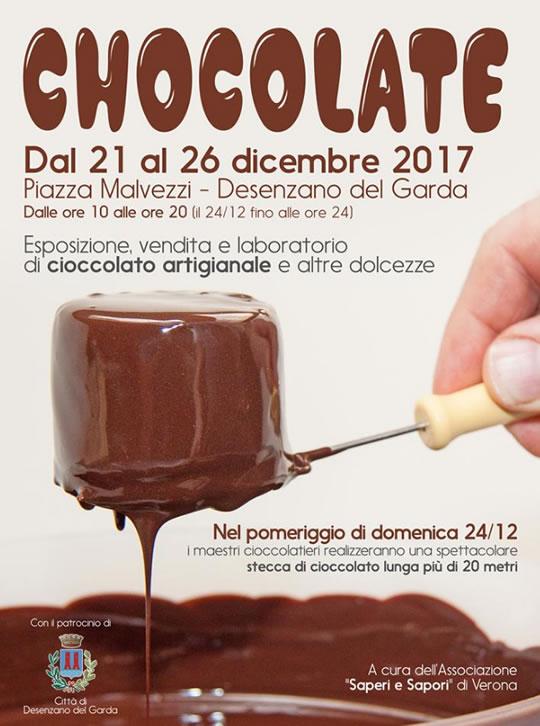 Chocolate a Desenzano del Garda