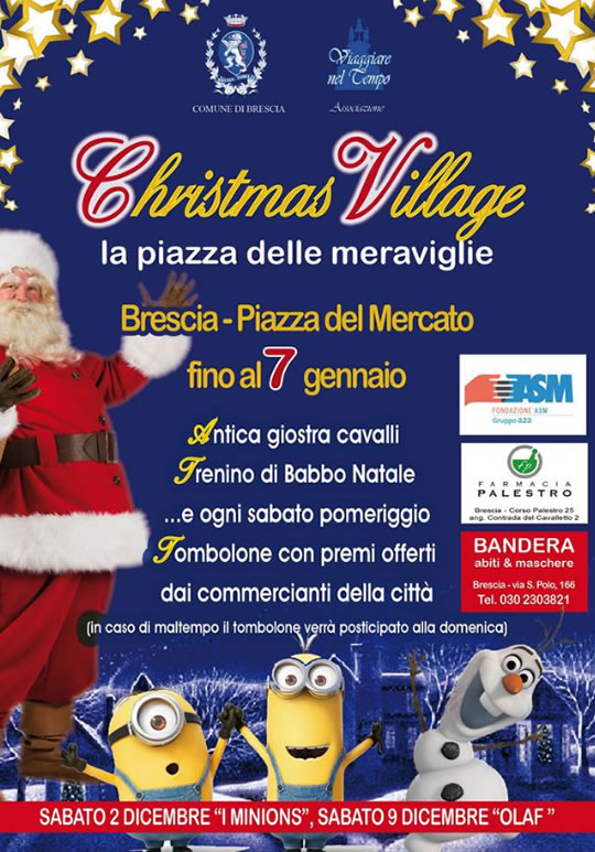 Christmas Village a Brescia