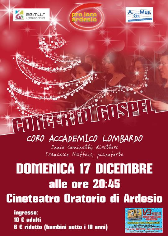 Concerto Gospel di Ardesio BG