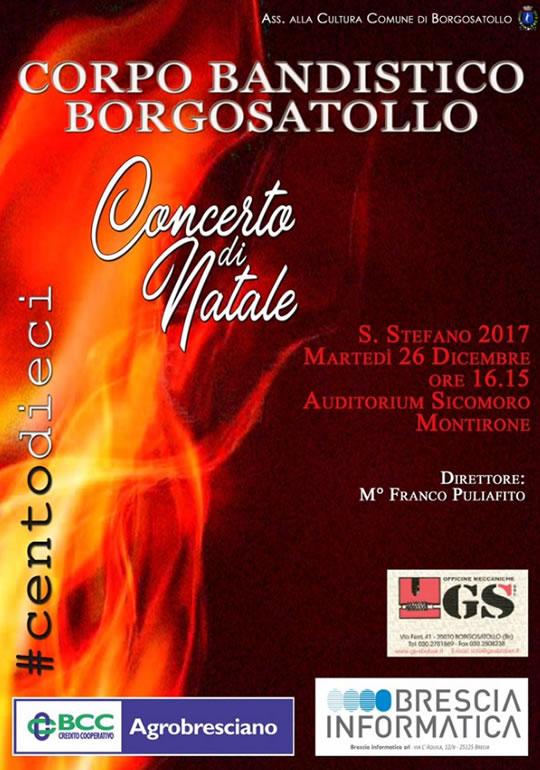 Concerto di Natale a Borgosatollo