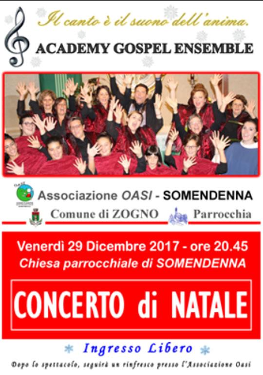 Concerto di Natale a Somendenna di Zogno