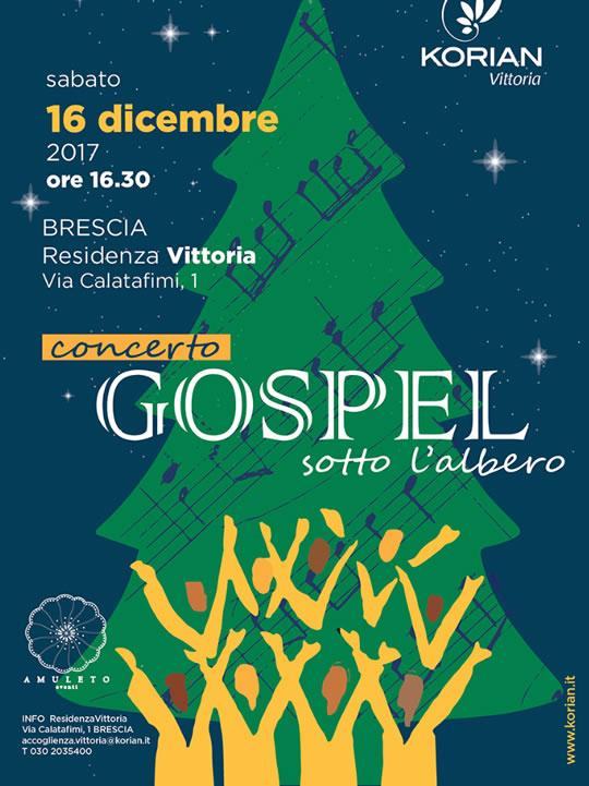 Gospel sotto l'Albero a Brescia
