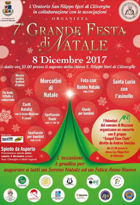 Grande Festa di Natale a Ciliverghe